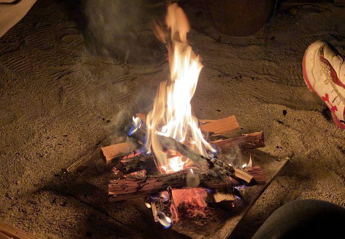 焚き火はやっぱり良い